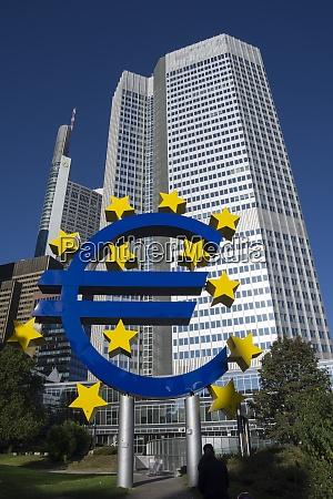 deutschland hessen frankfurt eu zeichen vor