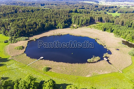 drone, view, of, rothsee, lake, in - 29125527
