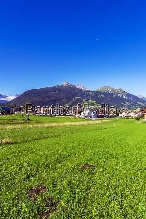 OEsterreich tirol ehrwald bergdorf im wettersteingebirge