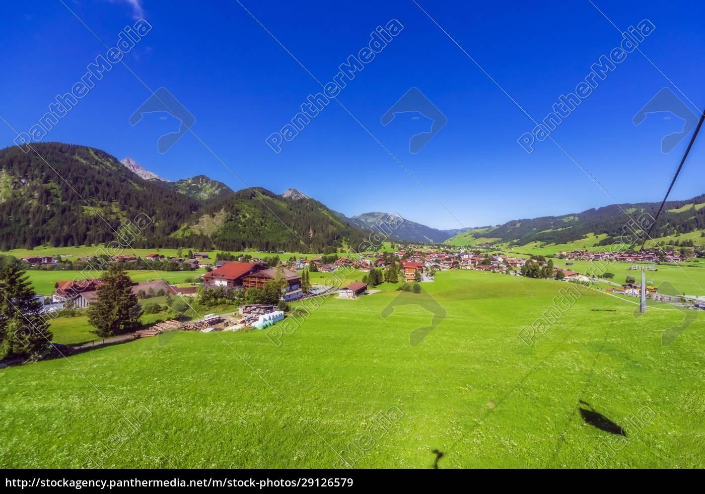 Österreich, tirol, landdorf, im, tannheimer, tal, im, sommer - 29126579