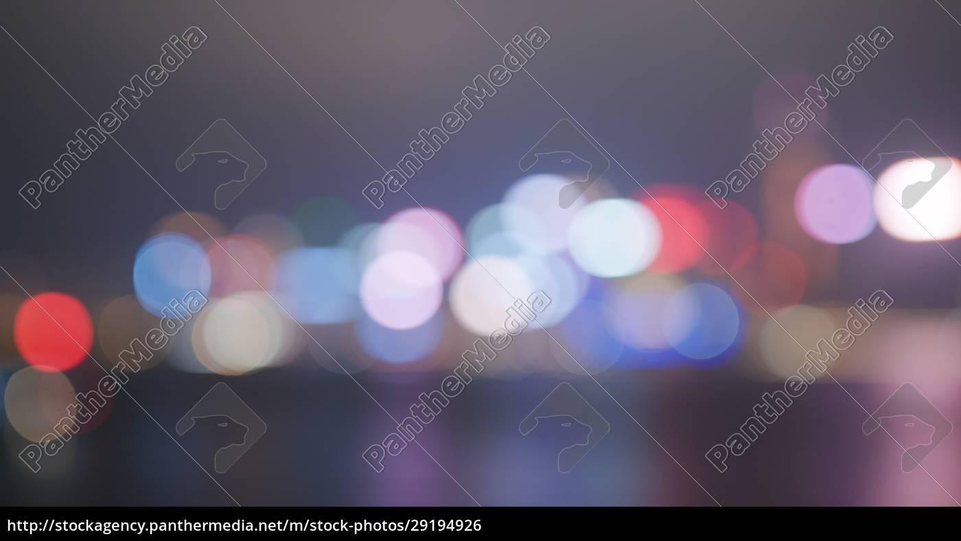 unschärfe, der, nachtansicht, der, stadt - 29194926