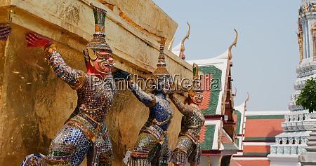 bangkok, , thailand, , 08, april, 2020:, statue - 29195036