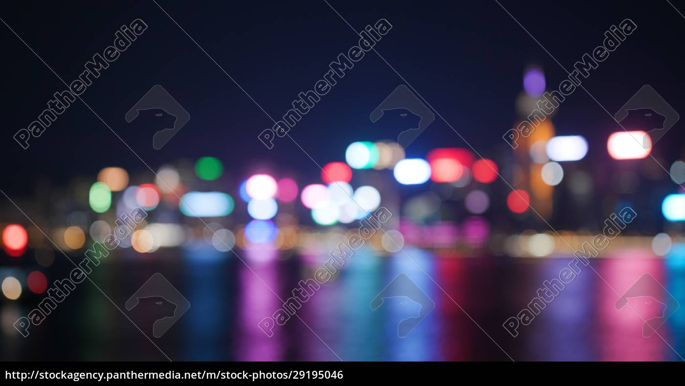 blur, of, city, night, view - 29195046