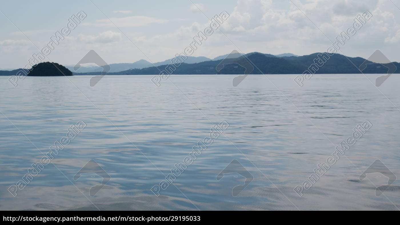 sea, surface, mountain, and, sky - 29195033
