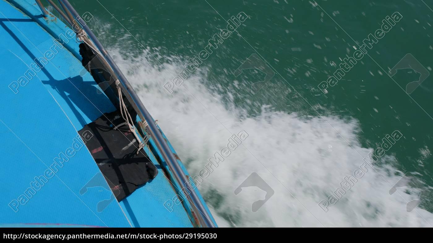 wasserwelle, von, motor, kreuzfahrtschiff - 29195030