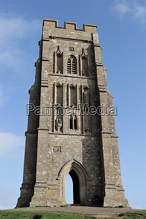 st michaels tower glastonbury tor somerset