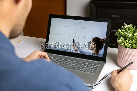 fernunterricht wirtschaftslehrer streamt online unterricht