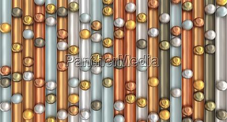abstrakten hintergrund mit gold silber und