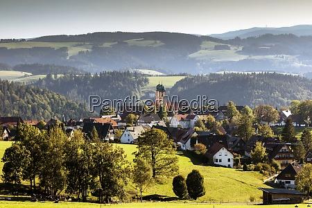 stmaergen place local community monastery church