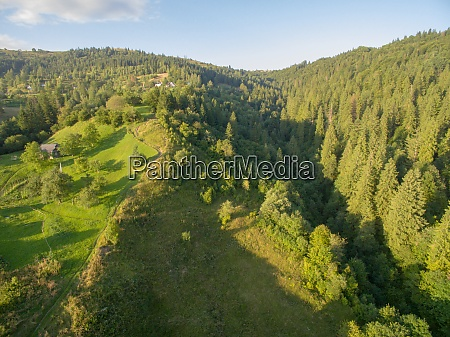 luftaufnahme, der, great, green, ridge, wooded - 29204815