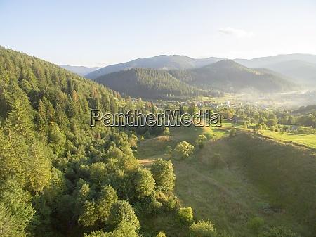 luftaufnahme, der, great, green, ridge, wooded - 29204817