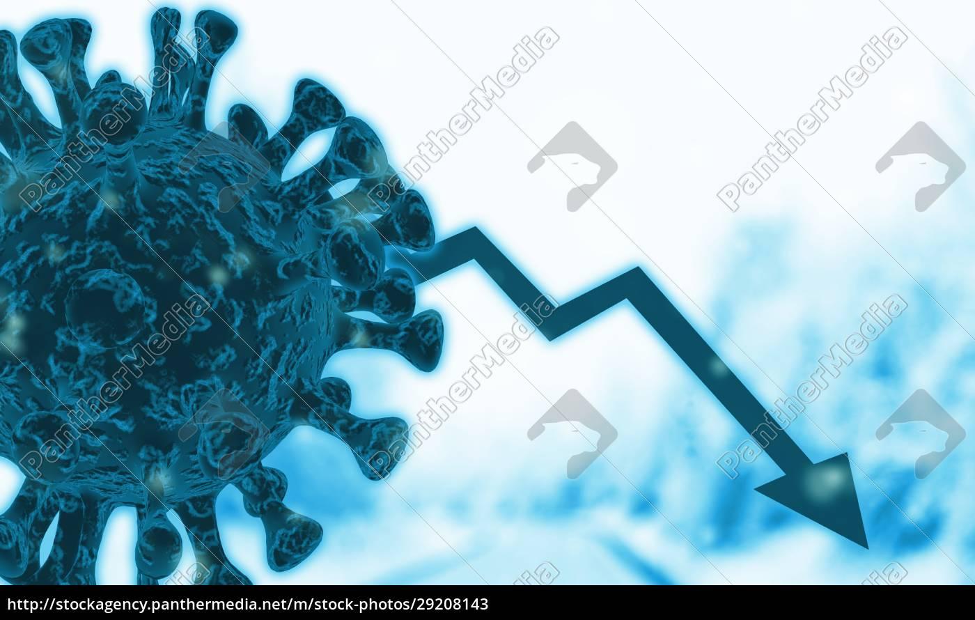 3d, erstellt, corona-virus-konzept., ende, der, corona-pandemie - 29208143