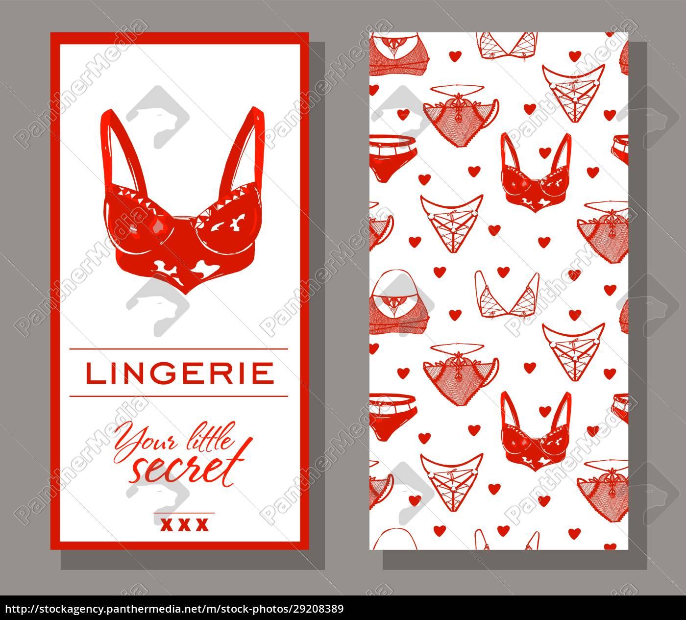 linen, tag, , logo., corporate, identity, lingerie. - 29208389