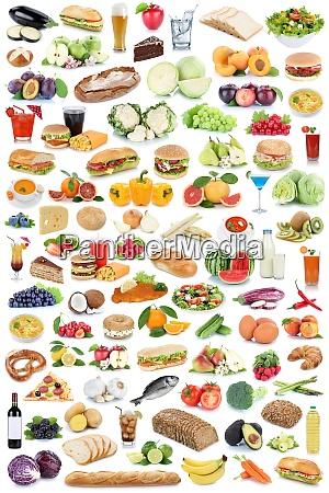 essen hintergrund getraenkesammlung gesunde ernaehrung obst