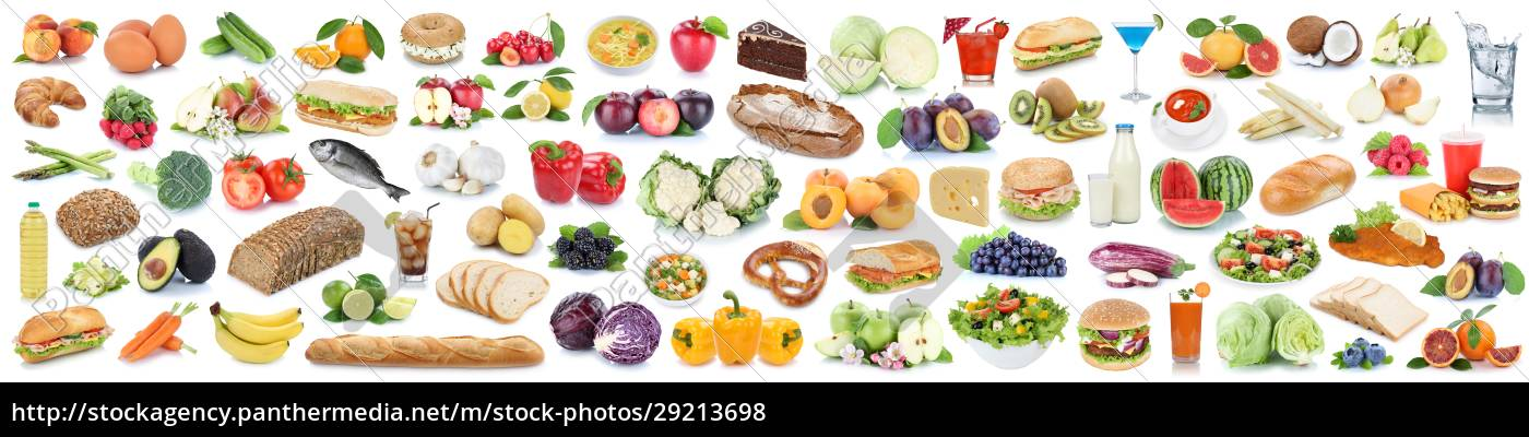 food, and, drink, collection, background, collage - 29213698