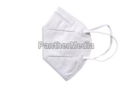 ffp 2 schutz gesichtsmaske isoliert auf