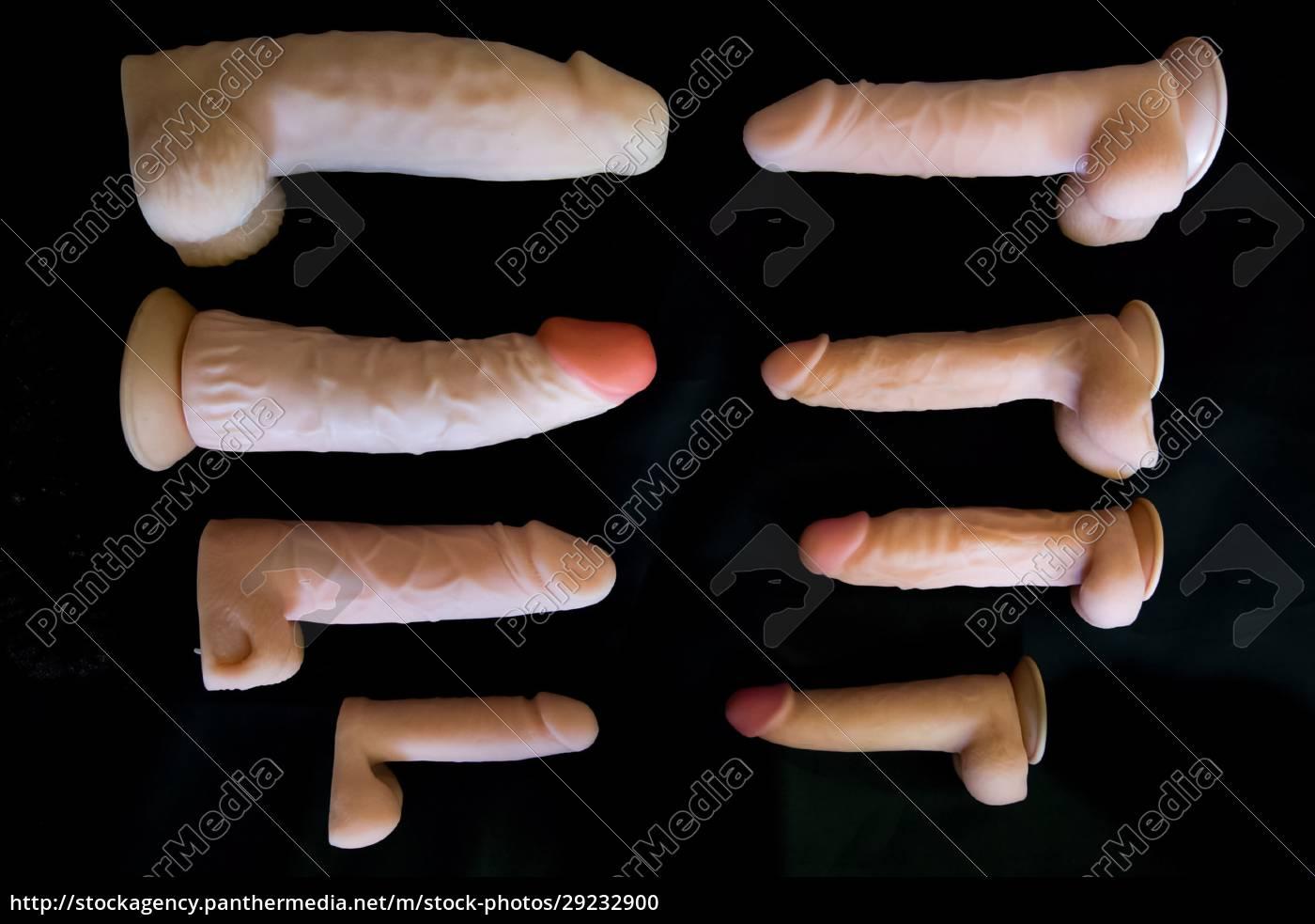 rubber, male, genitalia, on, a, black - 29232900
