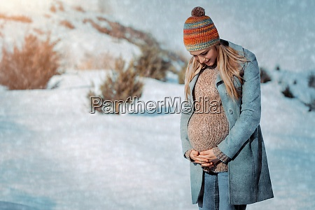 geniessen sie die schwangerschaft im winter