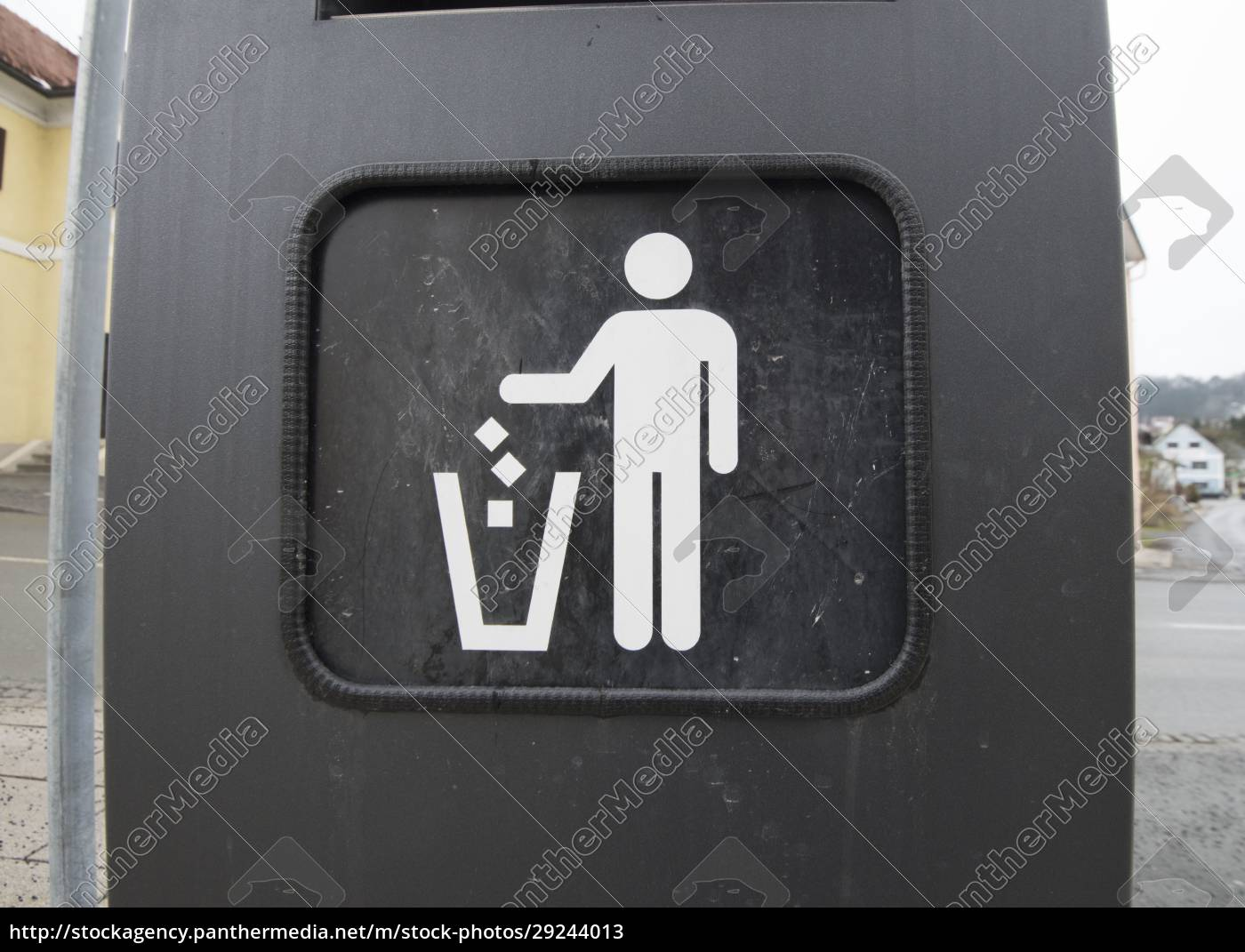 trash, can, or, garbage, can - 29244013
