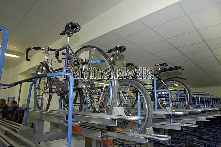 fahrradgarage oder fahrradgarage