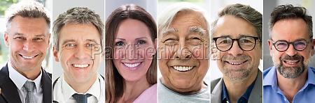 gesichter foto collage portraet