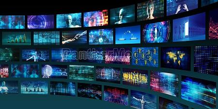technologie abstrakter hintergrund