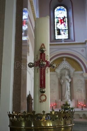 christliches kreuz oder kruzifix symbol des