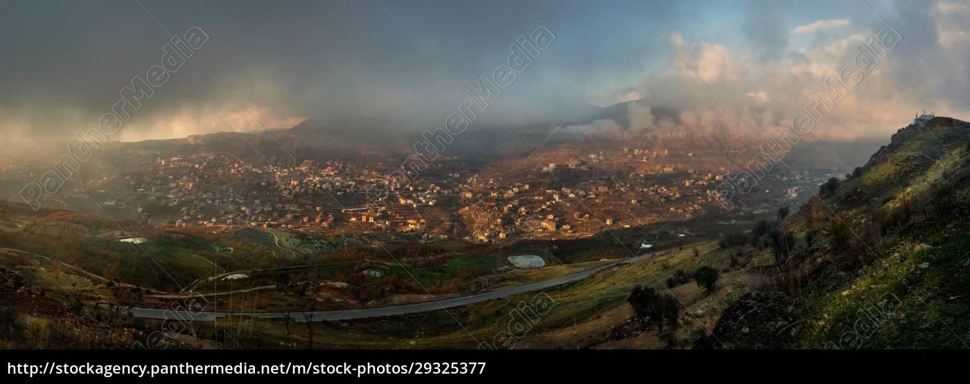 lebanon, panoramic, view - 29325377