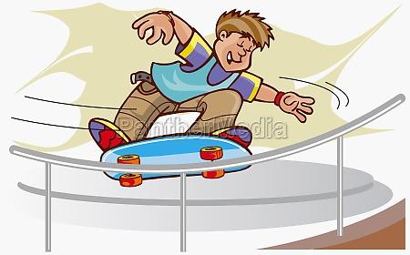 boy, skateboarding - 29382116