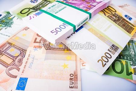 bargeld euro rechnungen euro waehrungsgeld