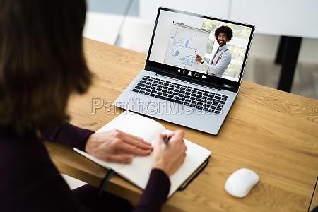 virtual online training vortrag