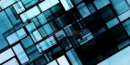 moderner technologiehintergrund als abstrakte kunst