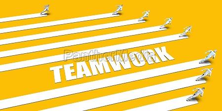 teamwork konzept