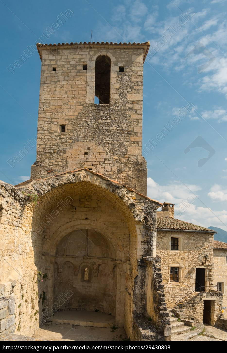 buildings, in, a, ancient, french, village - 29430803