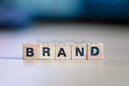 business marke und identitaetskonzept nahaufnahme von