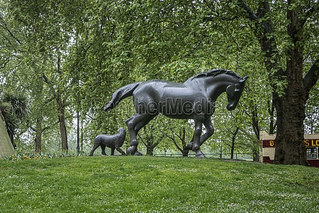 animals, in, war, memorial, , london, , uk - 29461685
