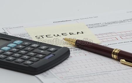steuer und finanzamt irs