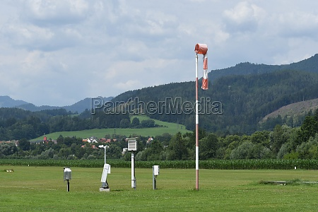 flugwetterstation und windmessung