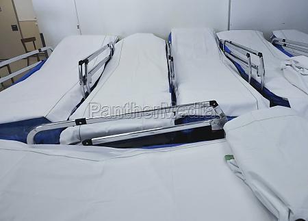 krankenhausbett im gesundheitswesen
