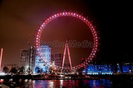 london eye london riesenrad