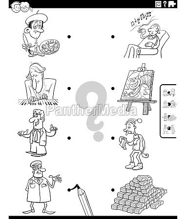 personen zeichen und objekte malbuchseite anpassen