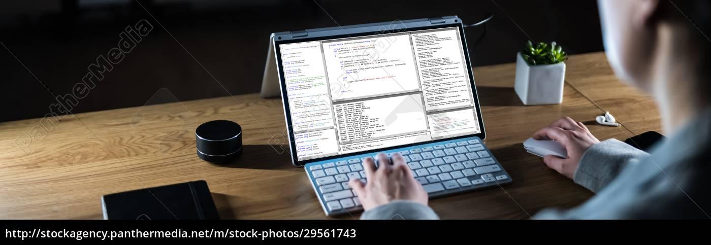 coder, working, at, night - 29561743