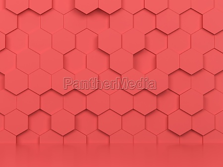abstract, hexagon, background - 29566347