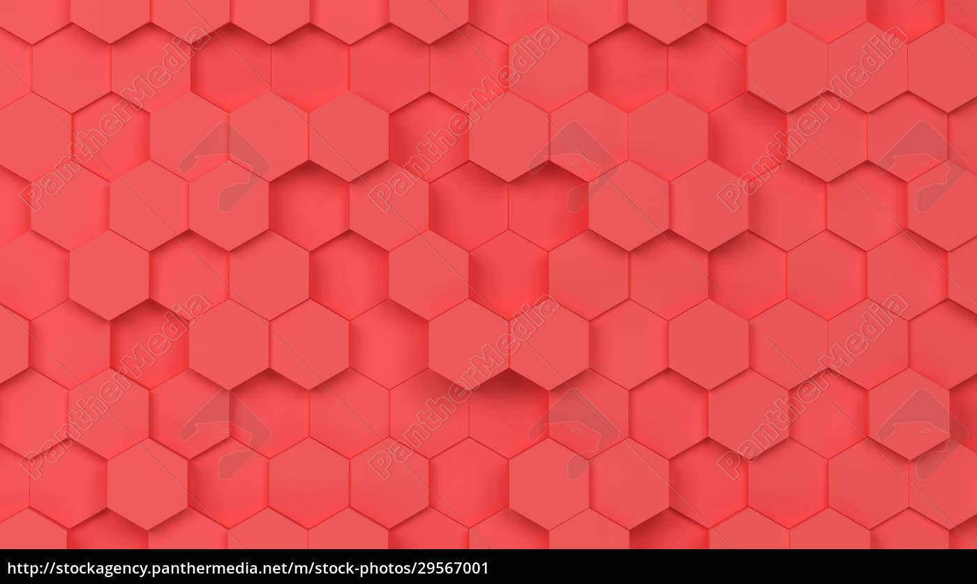 abstract, hexagon, background - 29567001