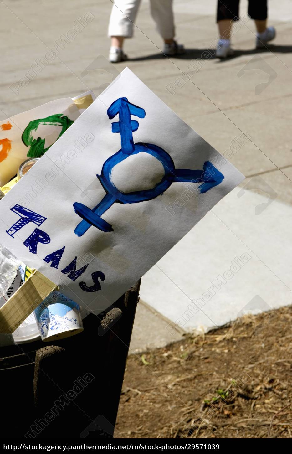 close-up, of, gay, pride, symbol, banners - 29571039