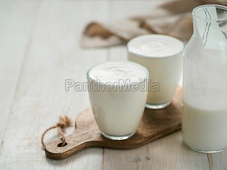 gut gesundheit fermentierte produkte konzept