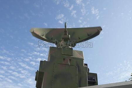 mobile militaerische luftraumueberwachungsausruestung