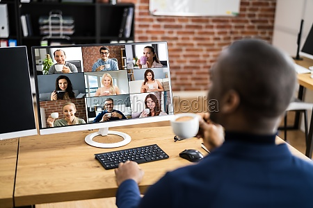 online, video, konferenz, work, webinar - 29608580
