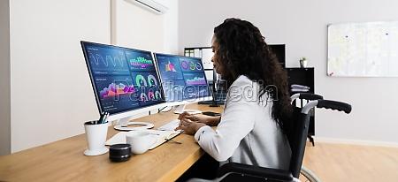 business data analyst frau