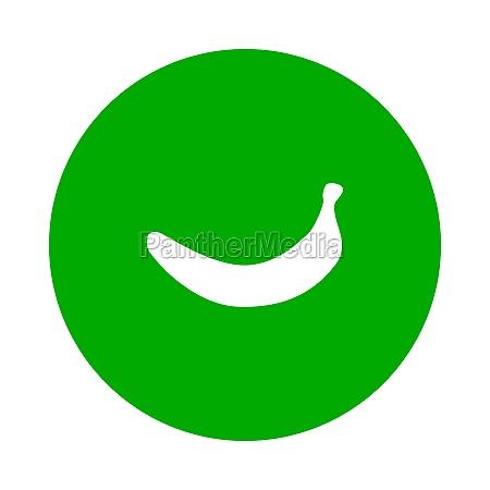 banane und kreis